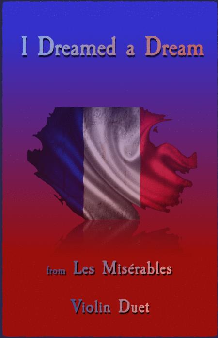 I Dreamed A Dream, from Les Misérables, Violin Duet