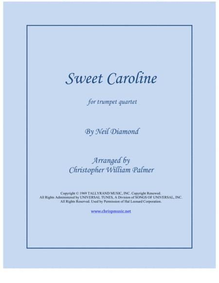 Sweet Caroline (Trumpet Quartet)