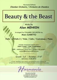 Beauty And The Beast - Alan MENKEN // 2017 Chamber Music Contest Entry