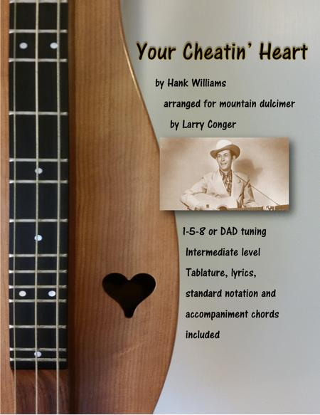Download Your Cheatin Heart Sheet Music By Hank Williams Sheet