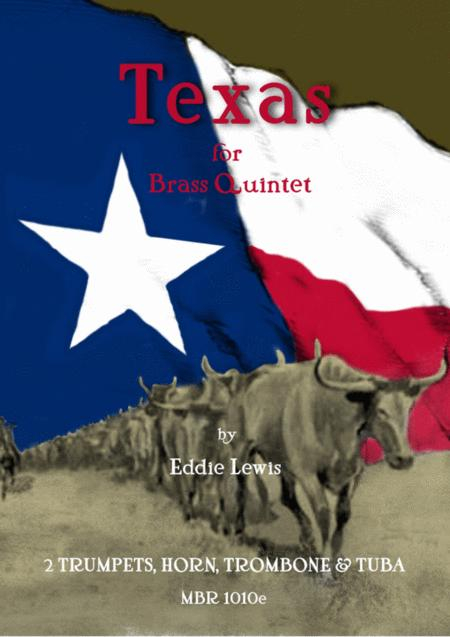 Texas for Brass Quintet by Eddie Lewis