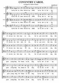 Coventry Carol SATB A Cappella