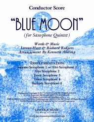 Blue Moon (for Saxophone Quintet SATTB and AATTB)