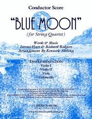 Blue Moon (for String Quartet)