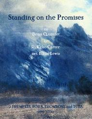 Standing on the Promises for Brass Quintet by R. Kelso Carter arr. Eddie Lewis