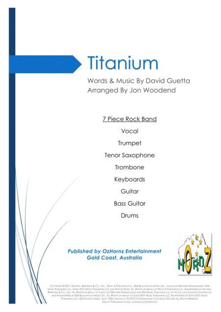 Titanium - 7 Piece Horn Chart