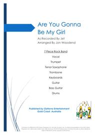 Are You Gonna Be My Girl - 7 Piece Horn Chart