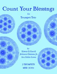 Count Your Blessings for Trumpet Trio
