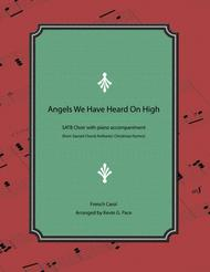 Angels We Have Heard on High - SATB choir with piano accompaniment