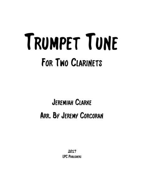 Trumpet Tune for Two Clarinets