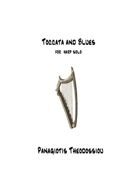 Toccata and Blues for harp solo