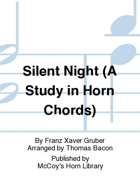 Silent Night (A Study In Horn Chords) Sheet Music By Franz Xaver ...