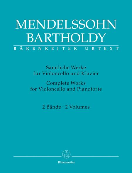 Complete Works for Violoncello and Pianoforte