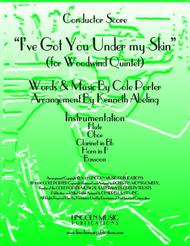 I've Got You Under My Skin (for Woodwind Quintet)