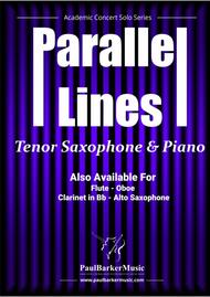 Parallel Lines (Tenor Saxophone & Piano)