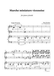 Fritz Kreisler - Marche miniature viennoise - 1 piano 4 hands