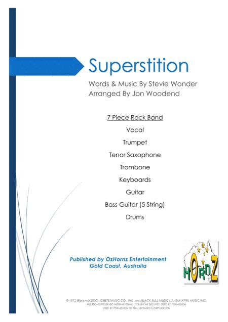Superstition - 7 Piece Horn Chart