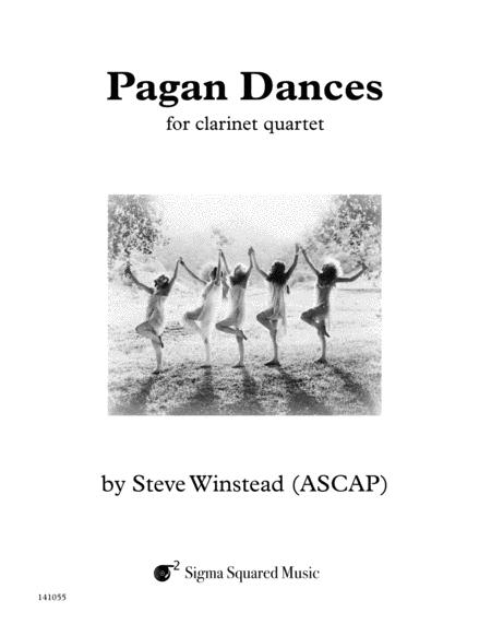 Pagan Dances for Clarinet Quartet or Choir