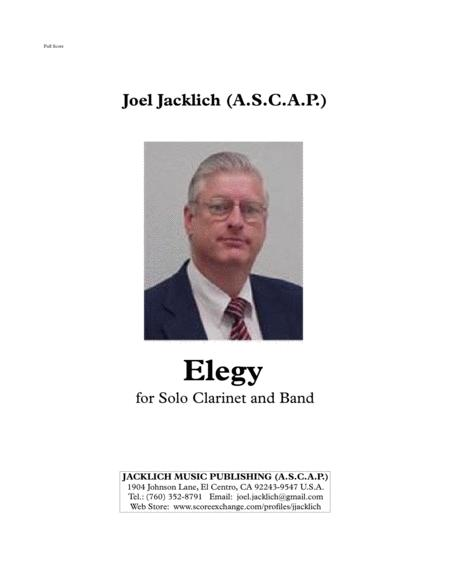 Elegy for Solo Clarinet and Band