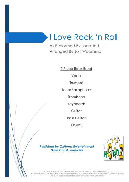 I Love Rock 'N Roll - 7 Piece Horn Chart