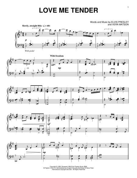 Love Me Tender [Jazz version]