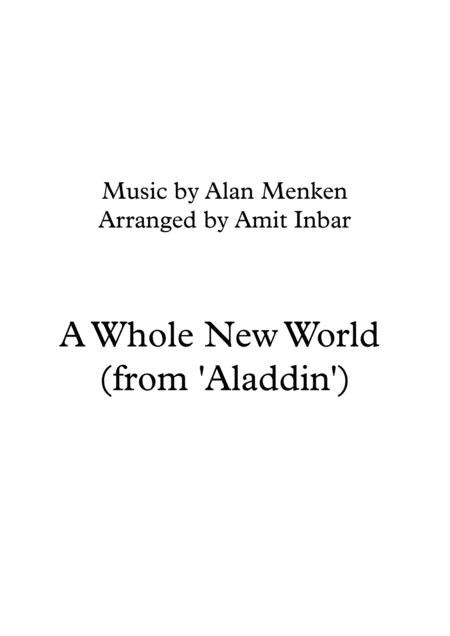 A Whole New World (from 'Aladdin')