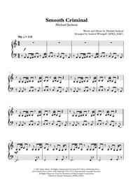 Smooth Criminal (Easy Piano)