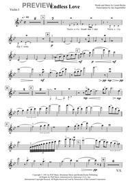 Endless Love (Orchestra + Voice, Score & Parts)