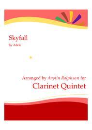 Skyfall - clarinet quintet