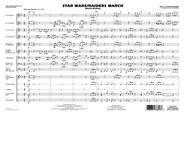 Star Wars/Raiders March - Full Score