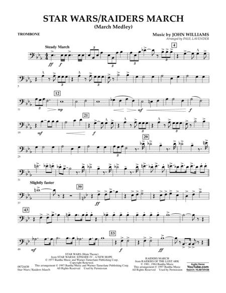 Star Wars/Raiders March - Trombone