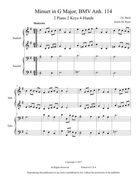 Minuet in G Major, BMV Anh. 114
