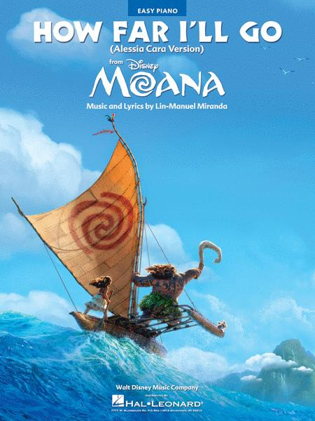 How Far I'll Go (from Moana)