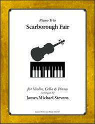 Scarborough Fair (Violin, Cello, & Piano)