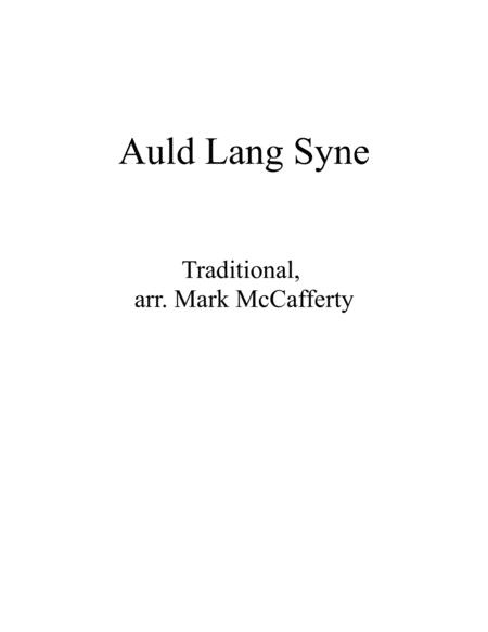 Download Auld Lang Syne Steel Drum Sheet Music By Mark McCafferty ...