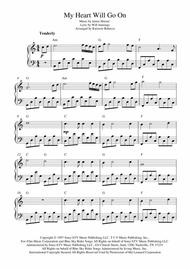 Download My Heart Will Go On (Love Theme From Titanic) Sheet Music