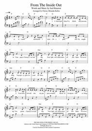 Download From The Inside Out - Piano/Vocal/Guitar Sheet