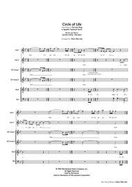 Circle Of Life (SATB divisi, a cappella)