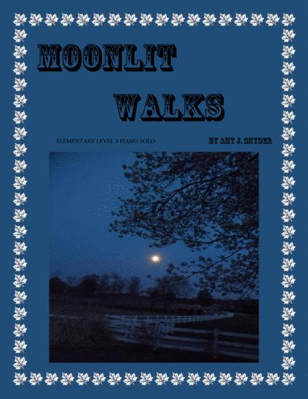 Moonlit Walks, piano solo/duet
