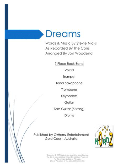 Dreams - 7 Piece Horn Chart