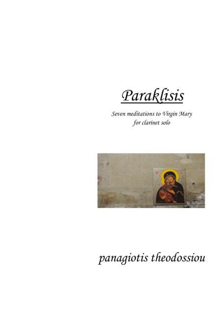 Paraklisis for clarinet solo