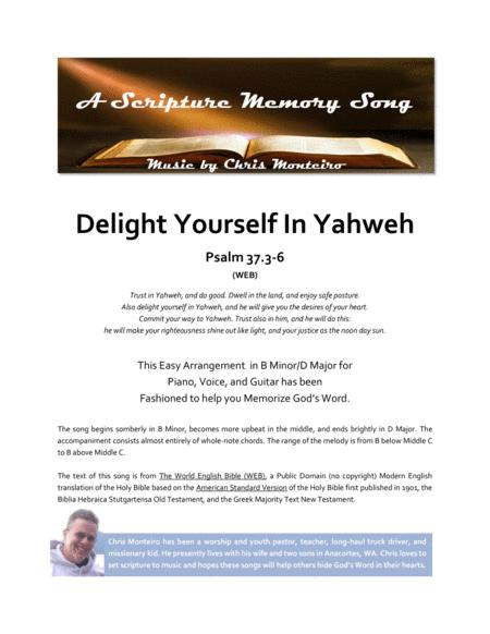Download Delight Yourself In Yahweh Psalm 373 6 Web Sheet Music