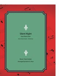 Silent Night - easy piano duet