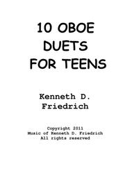 10 Oboe Duets for Teens