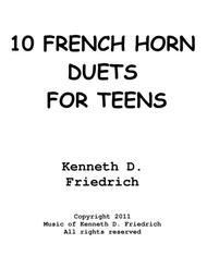 10 French Horn Duets for Teens