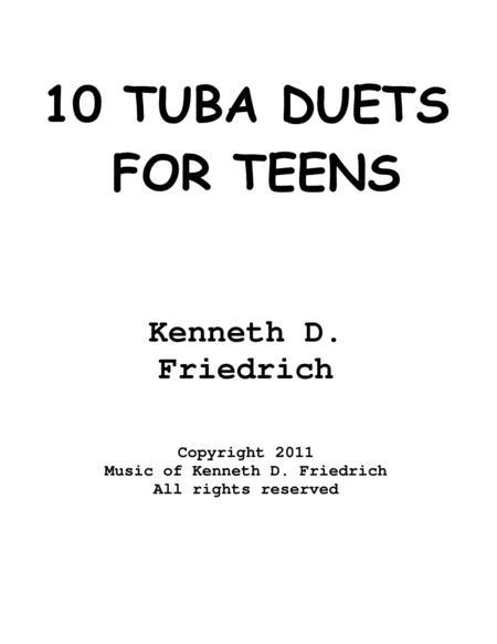 10 Tuba Duets for Teens