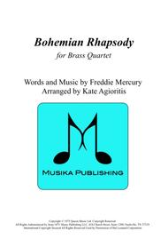 Bohemian Rhapsody - for Brass Quartet