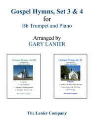 GOSPEL HYMNS, Set III & IV (Duets - Bb Trumpet and Piano with Parts)