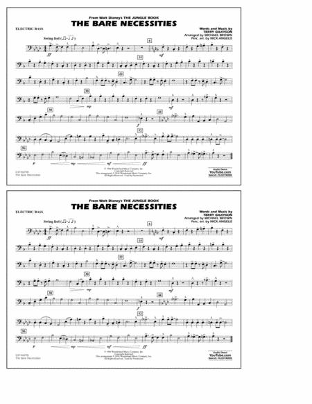 The Bare Necessities (from The Jungle Book) - Electric Bass