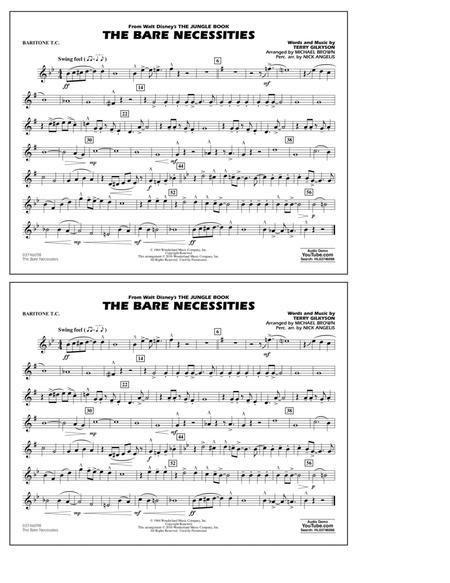 The Bare Necessities (from The Jungle Book) - Baritone T.C.